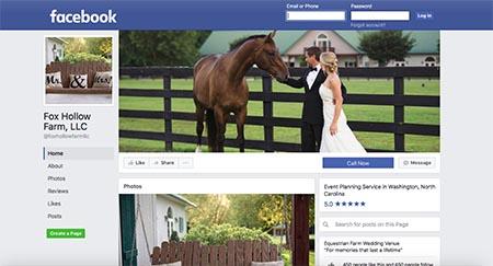 FHF Venue Facebook Page