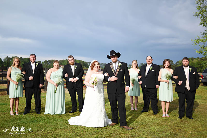 Woolard-Henderson Bridal Party