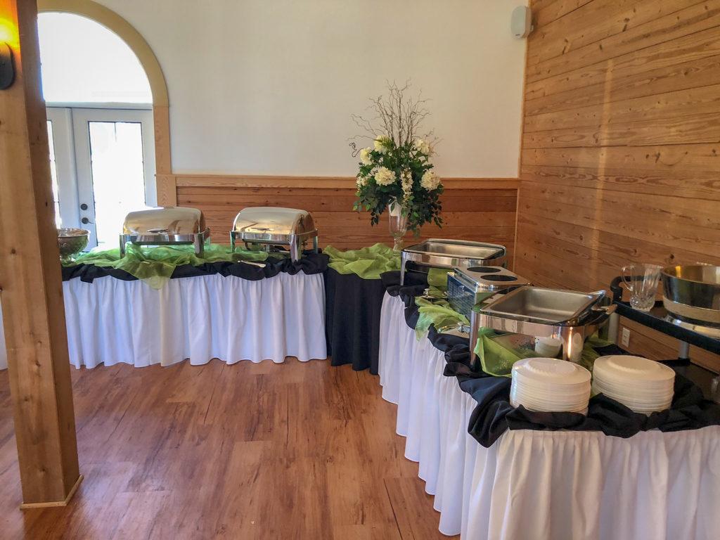 Catering-Set-Up-Wedding-Reception-Washington-NC